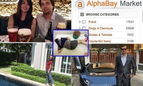 Alexandre Cazes (AlphaBay) – A Computer Genius And A Dumbass