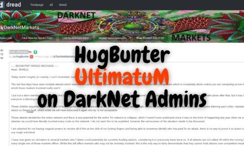 HugBunter Attacking Darknet Markets