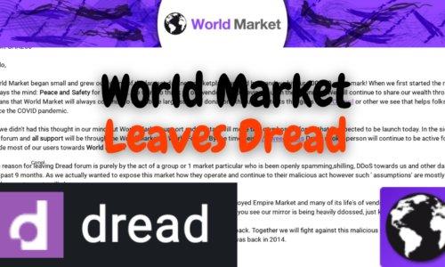 World Market Leaving Dread