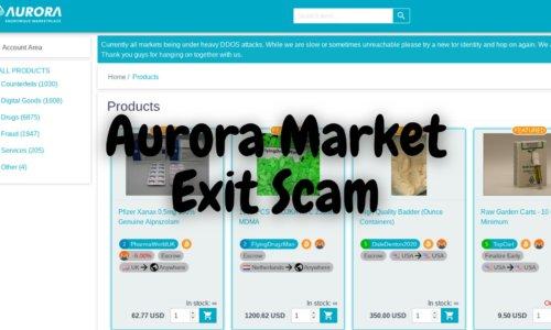 Aurora Market Has Exit Scammed